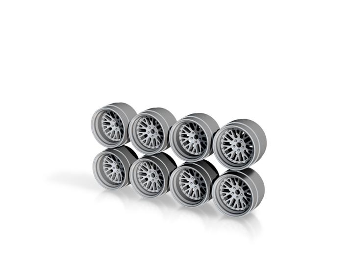 CCW Classics Hot Wheels Rims 3d printed