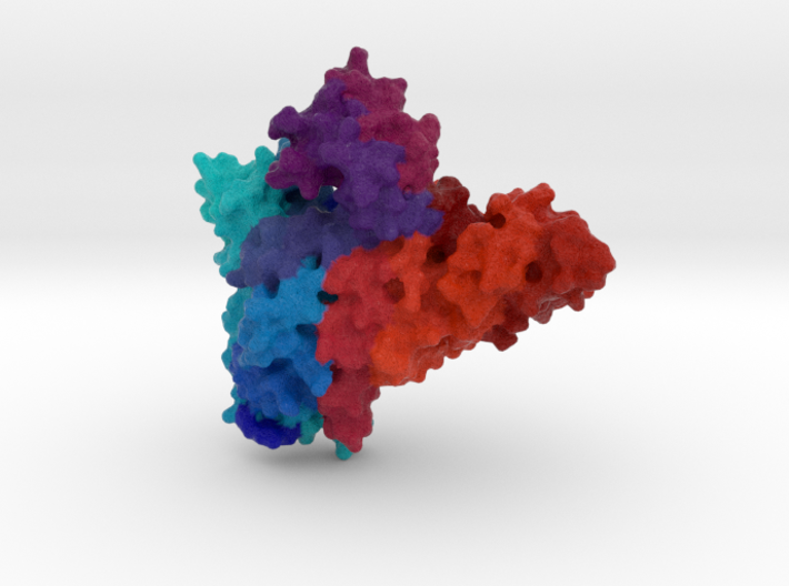 Cmr2 Subunit of CRISPR-Cas 3d printed