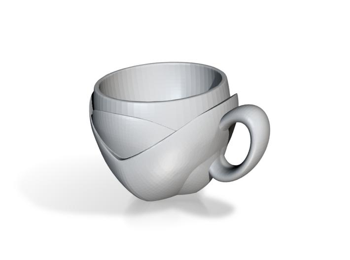 LeafCup 3d printed
