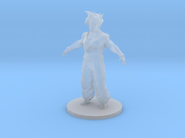 Gohan dragonball z 3d printed