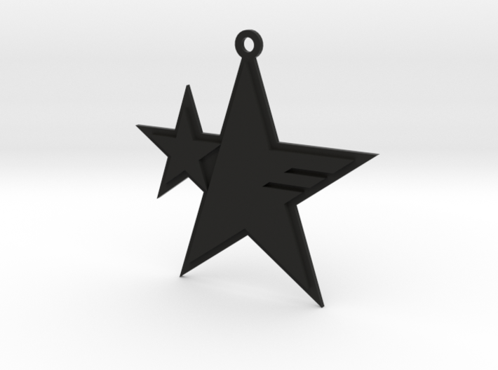 Sonic Forces - Resistance Star Keychain 3d printed