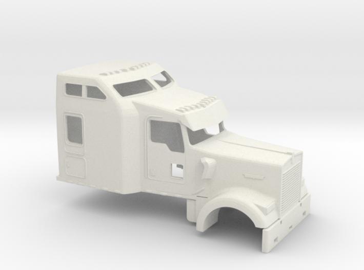 1/14 Kenworth W900 Cab 3d printed