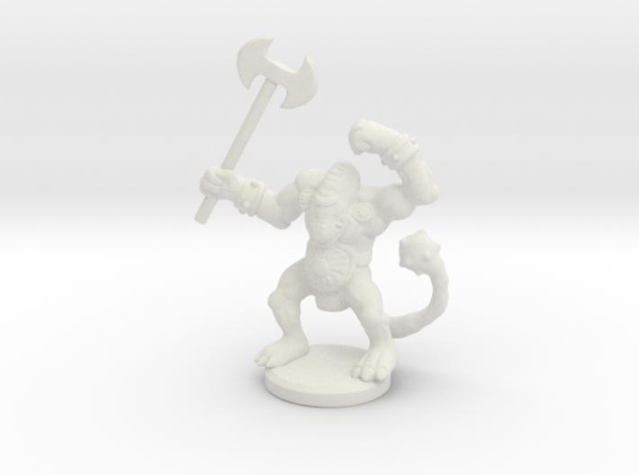 HeroQuest Fimir Miniature 3d printed