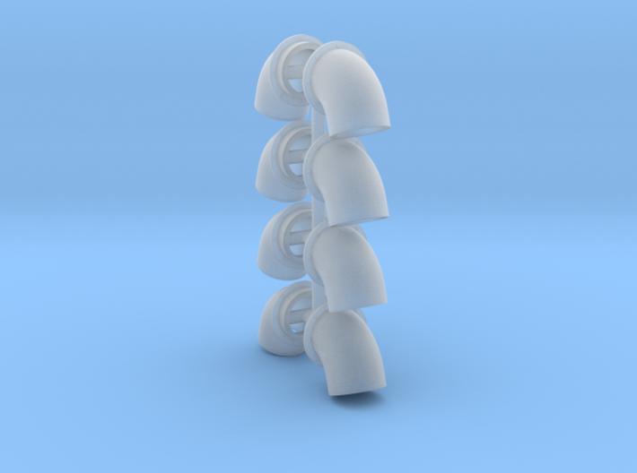 Bullhorns 1/25 6 inch 4pr 3d printed