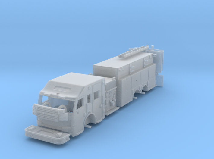1/160 Rosenbauer Pumper Tanker 3d printed