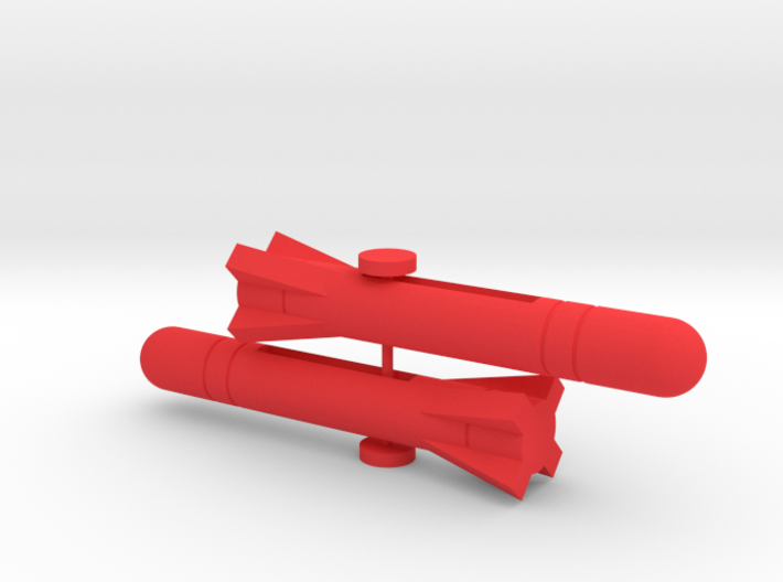F-1400 Starwolf Missiles Type #1 3d printed