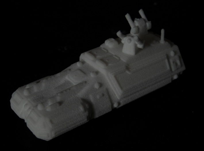 MG144-HE002B Turma Multirole Vehicle (Command) 3d printed Model in WSF