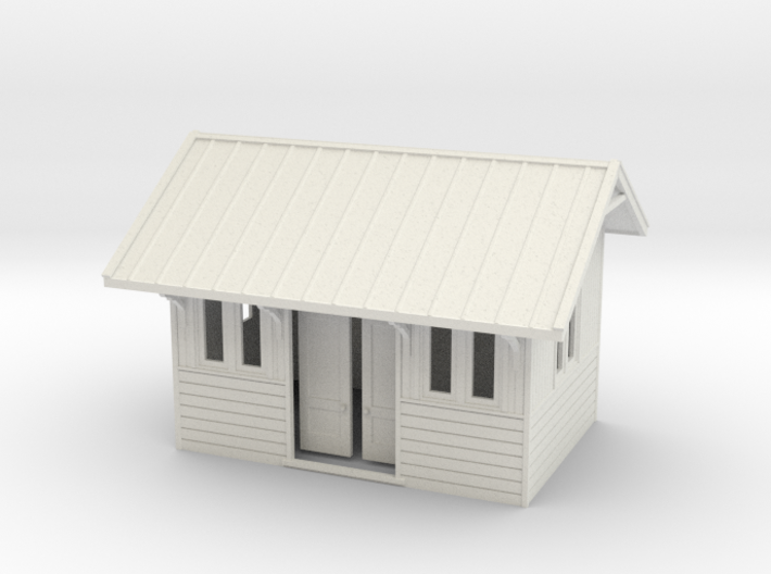 LM48 waiting shelter 3d printed