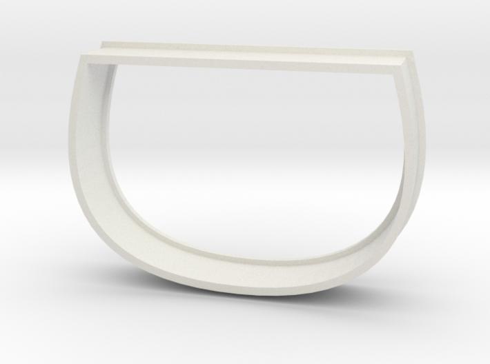 Sake Cup Cookie Cutter 3d printed