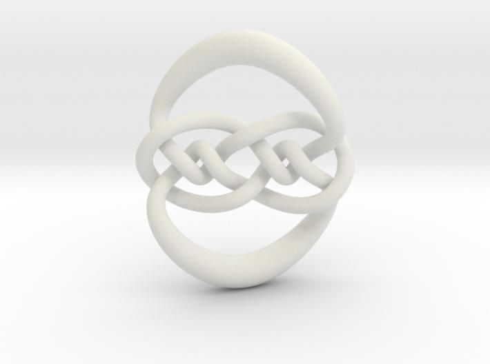 Knot 10₁₂₀ (Circle) 3d printed
