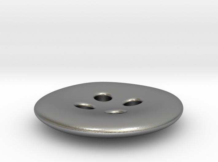 Asymmetrical designer buttons 3d printed