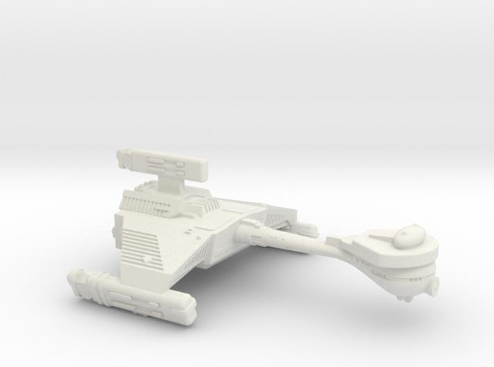 3125 Scale Klingon HF5B Heavy War Destroyer WEM 3d printed