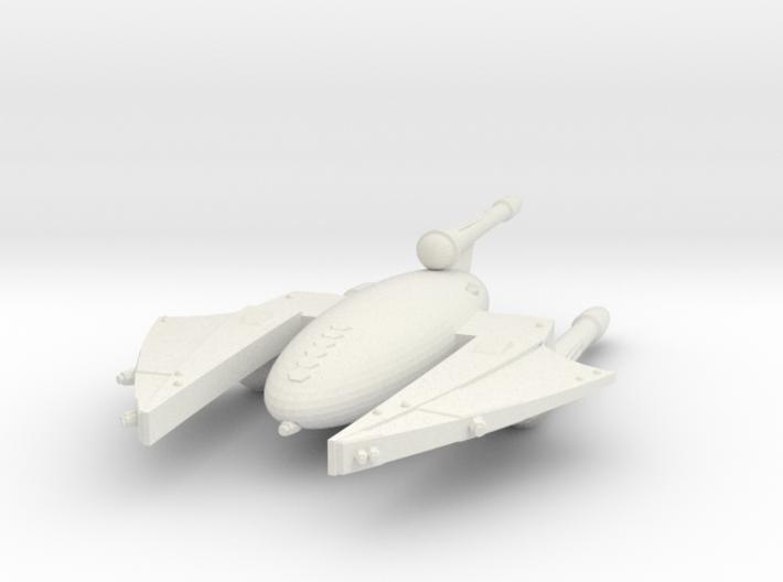 3788 Scale Drex Battlecruiser MGL 3d printed