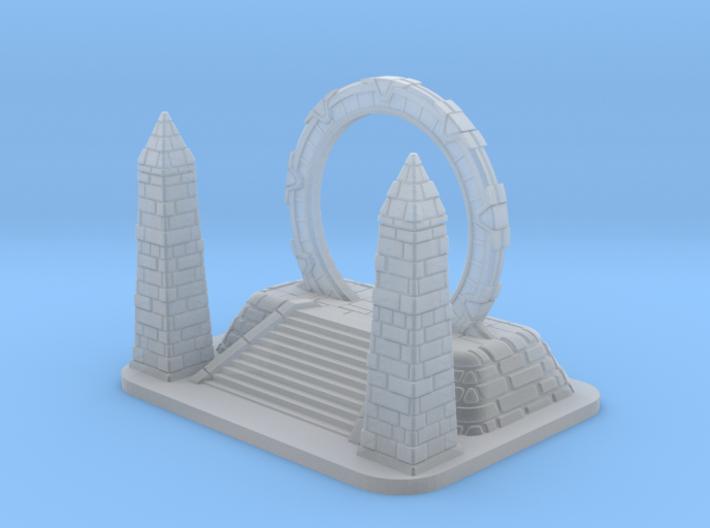 SG1 Stargate Token: 1/270 scale 3d printed