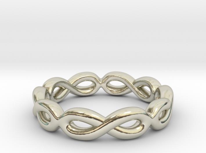 Infinity Ring: Eternal 3d printed