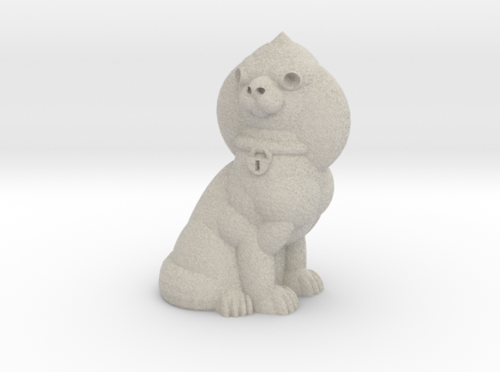 Staffordshire Dog 3d printed