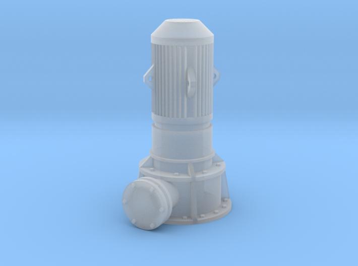 HO Vertical Pump 3d printed
