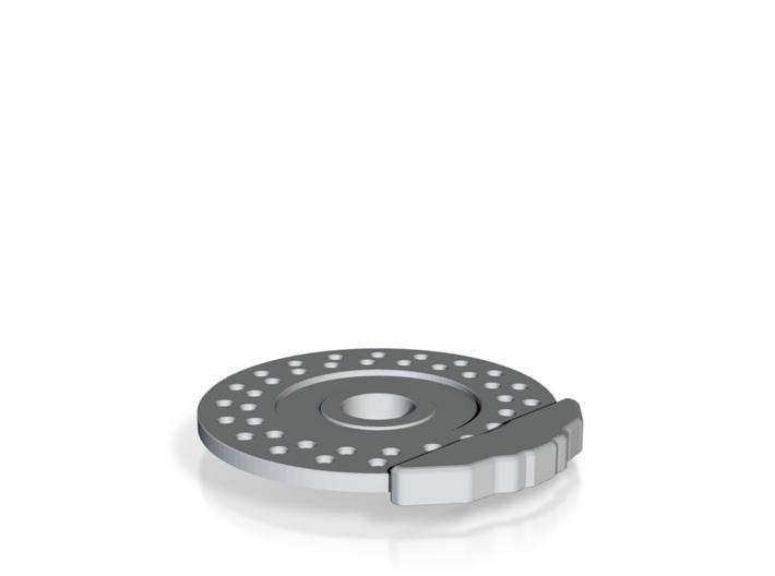 Disc Brake & Caliper for 56mm 6 Pin Wheel 3d printed