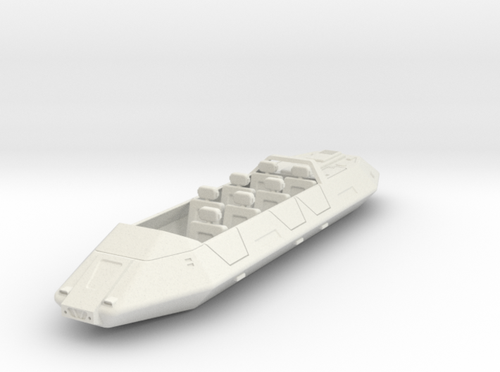 AC15 Air/Raft 7 Passenger (28mm) 3d printed