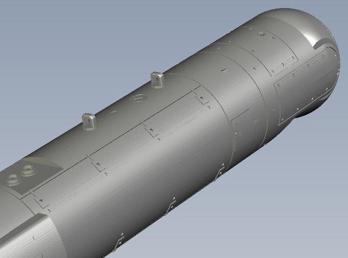 1/100 scale AN/AAQ-28 LITENING targeting pods x 3 3d printed