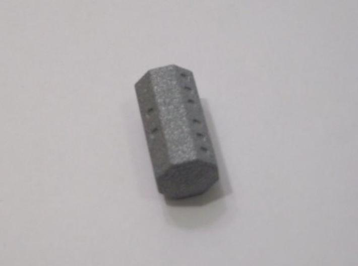 Cycle D8 Die (small) 3d printed Printed in Alumide. A roll of eight is shown.