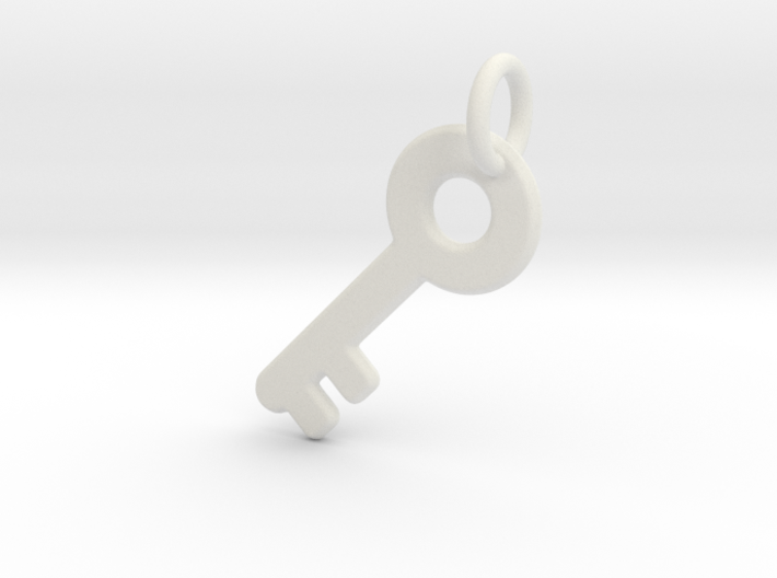 Major Key 3d printed