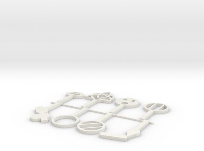 D&D Conditions Set 1 3d printed