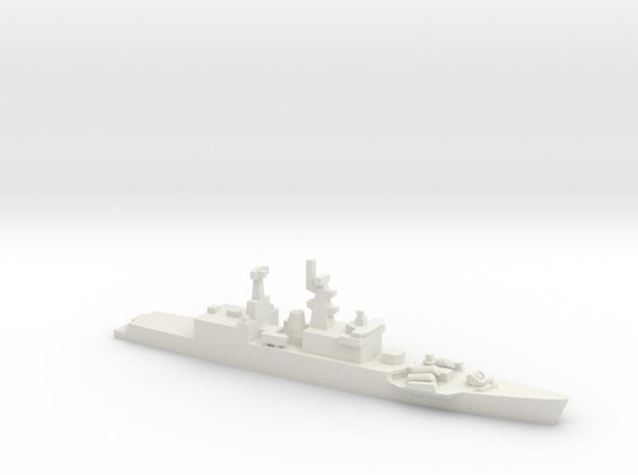 Godavari-class frigate, 1/2400 3d printed