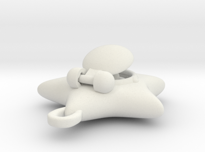 Rotating Sailormoon Star Locket: 1/4 scale 3d printed