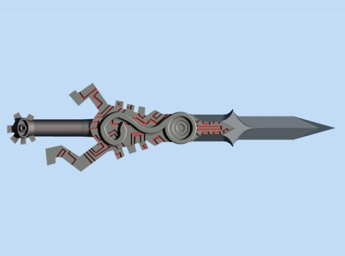 Twilight Sword 3d printed Render