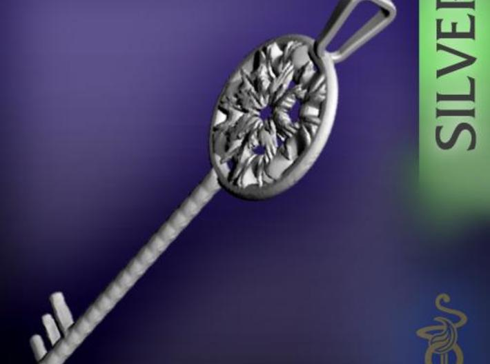 Magic key pendant 5.5cm 3d printed 3