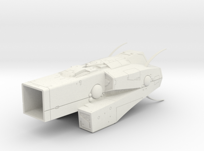 LoGH Imperial Asgrimm 1:3000 (Part 2/2) 3d printed