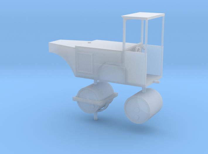 Straßenwalze mit Verdeck 1:72 3d printed