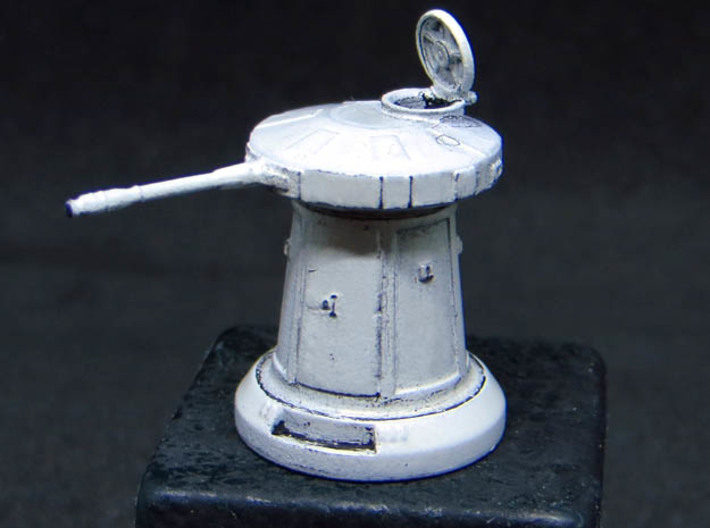 SNOW TURRET 1/144 OPEN 3d printed