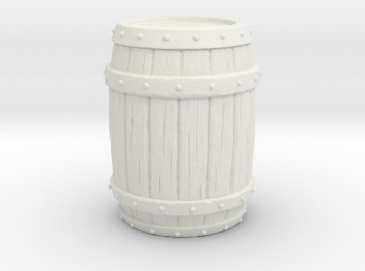 Barrel Environment Miniature 3d printed