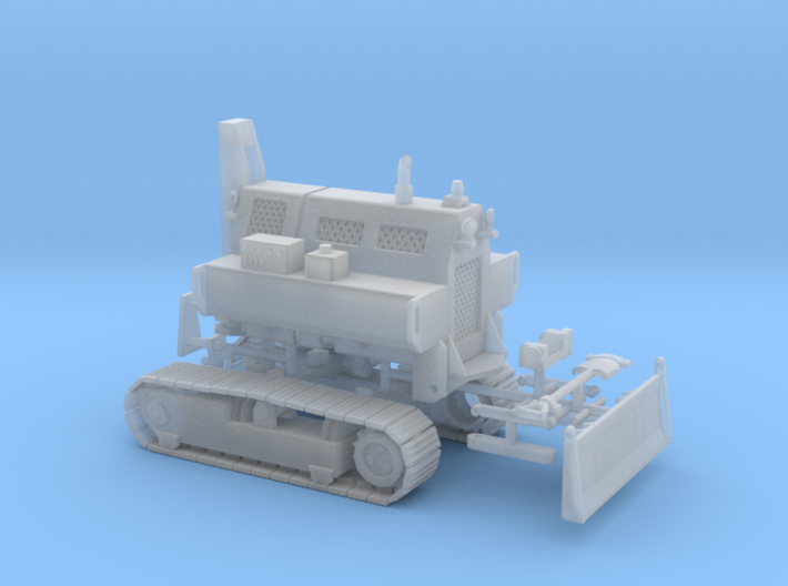 1/50th Remote Control Tracked Mobile Home Tug 3d printed