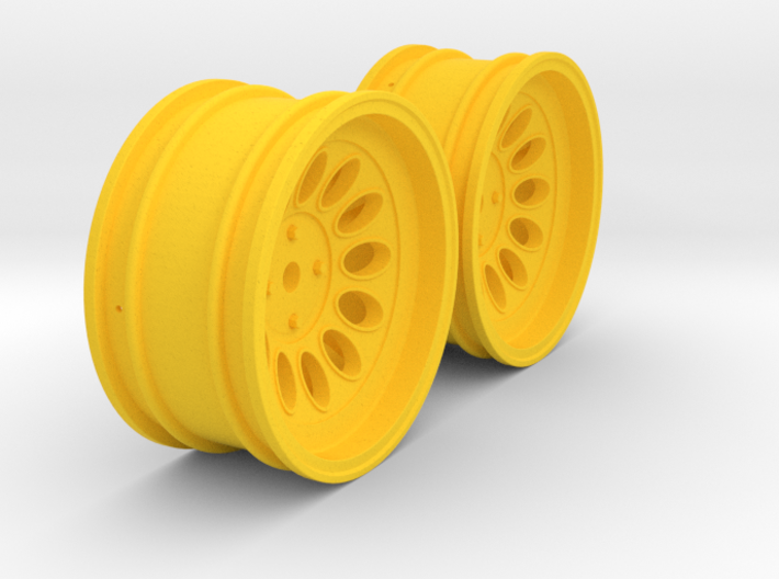 Wheels - 26mm Touring - Alfa 2000 GTAM +6mm Offset 3d printed
