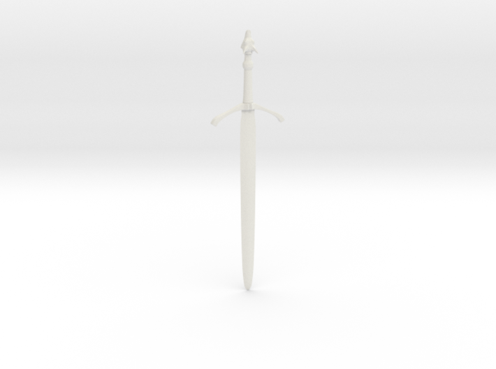 "Three-Rune Blade (41cm / 16"") 3d printed"