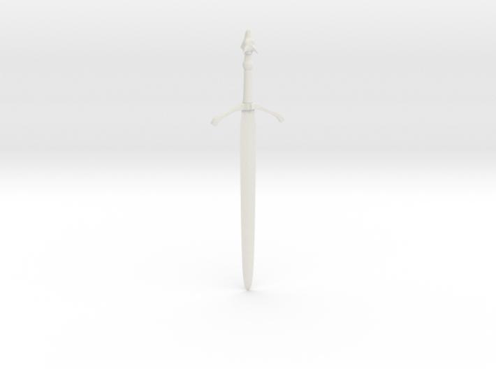"Three-Rune Blade (41cm / 16"") 3d printed"