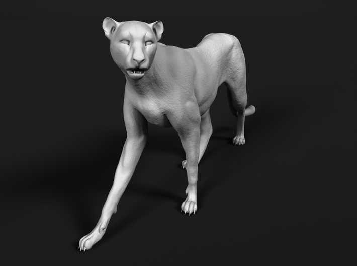 Cheetah 1:87 Walking Female 2 3d printed
