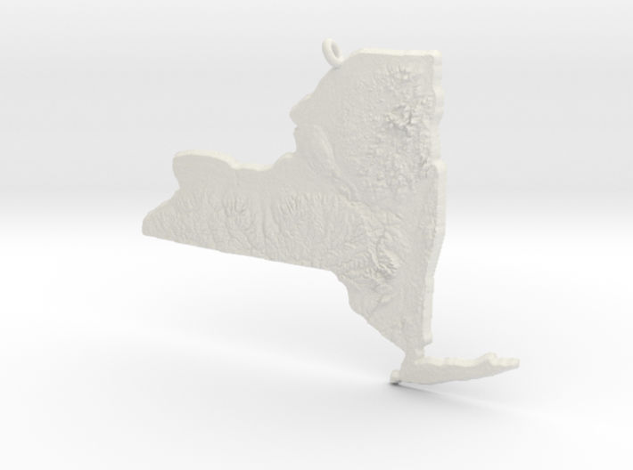 New York Christmas Ornament 3d printed