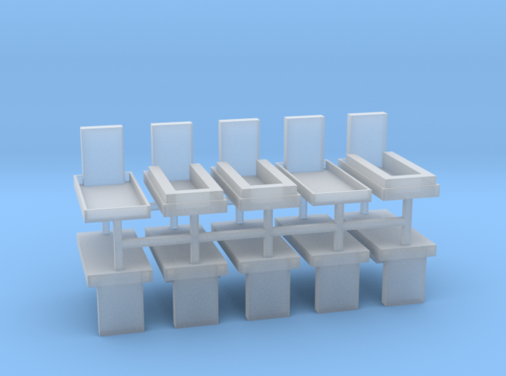 Gräber Set2 10erSet - 1:87 H0 3d printed