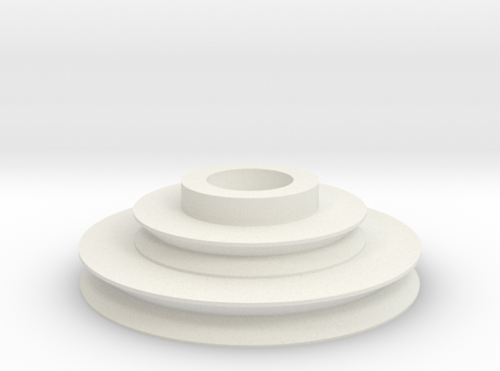 Imperial Disk With Notch .8 3d printed