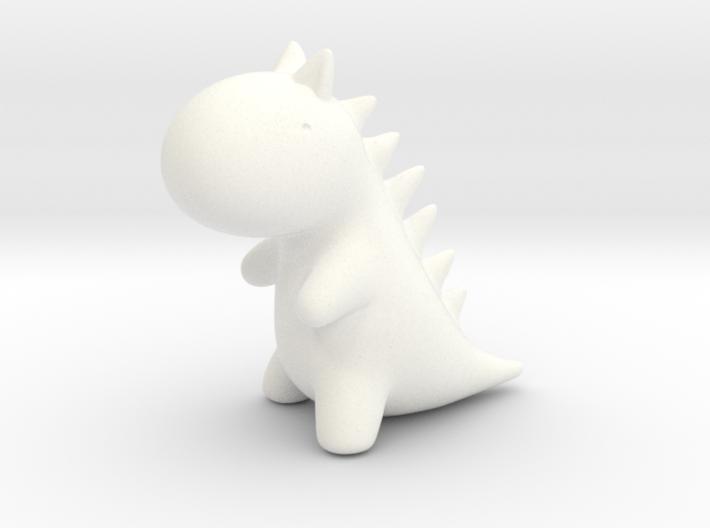 Little Plastic Dino 3d printed
