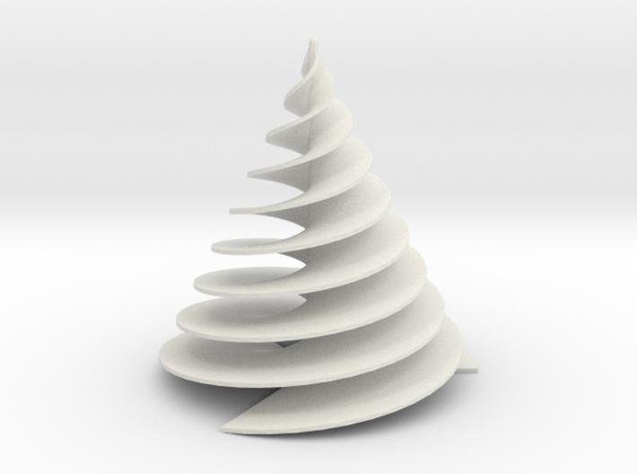 Spiral3Face-1 3d printed