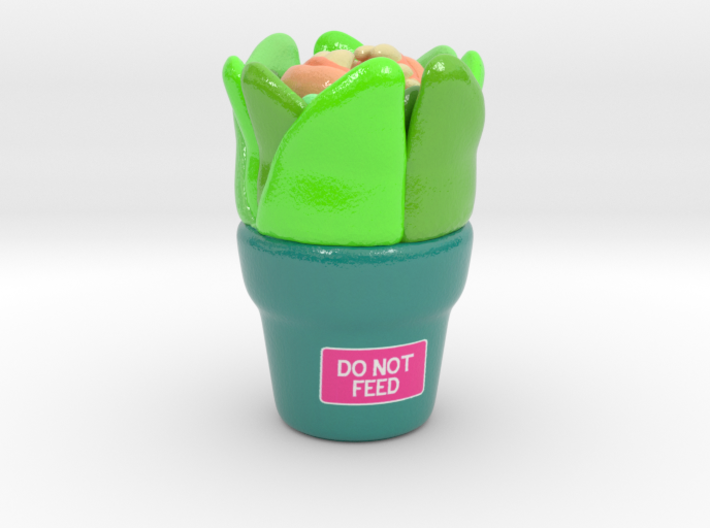 DO NOT FEED 3d printed