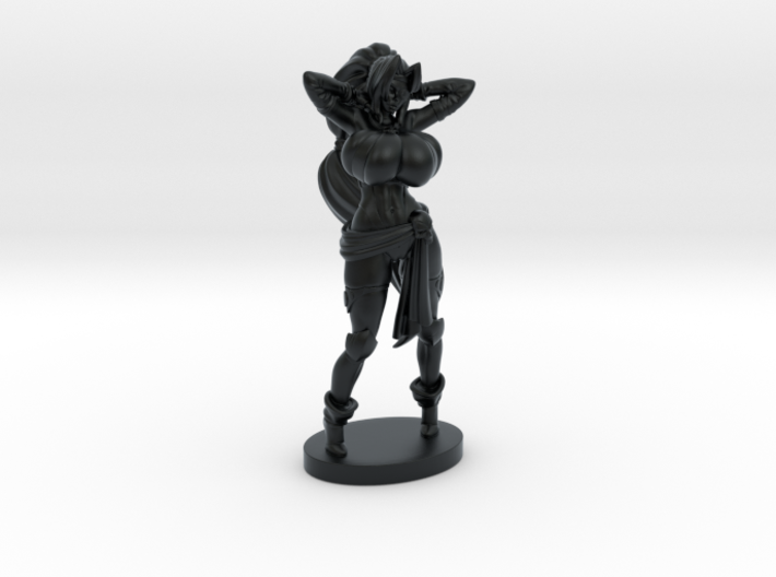 Captain Veronika Red RPG 40mm Mini 3d printed