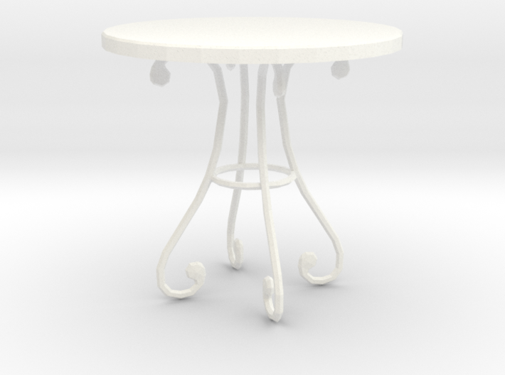 'Finer Fare' Table 1:12 Dollhouse 3d printed