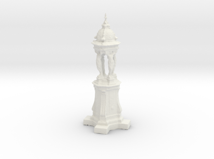 Printle Thing Paris Fontaine Wallace - 1/24 3d printed