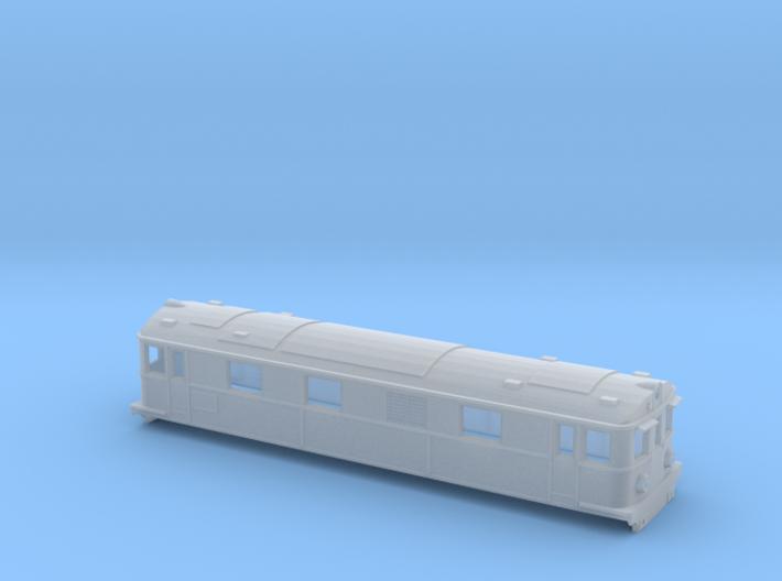 Swedish SJ electric locomotive type Dg2 - N-scale 3d printed